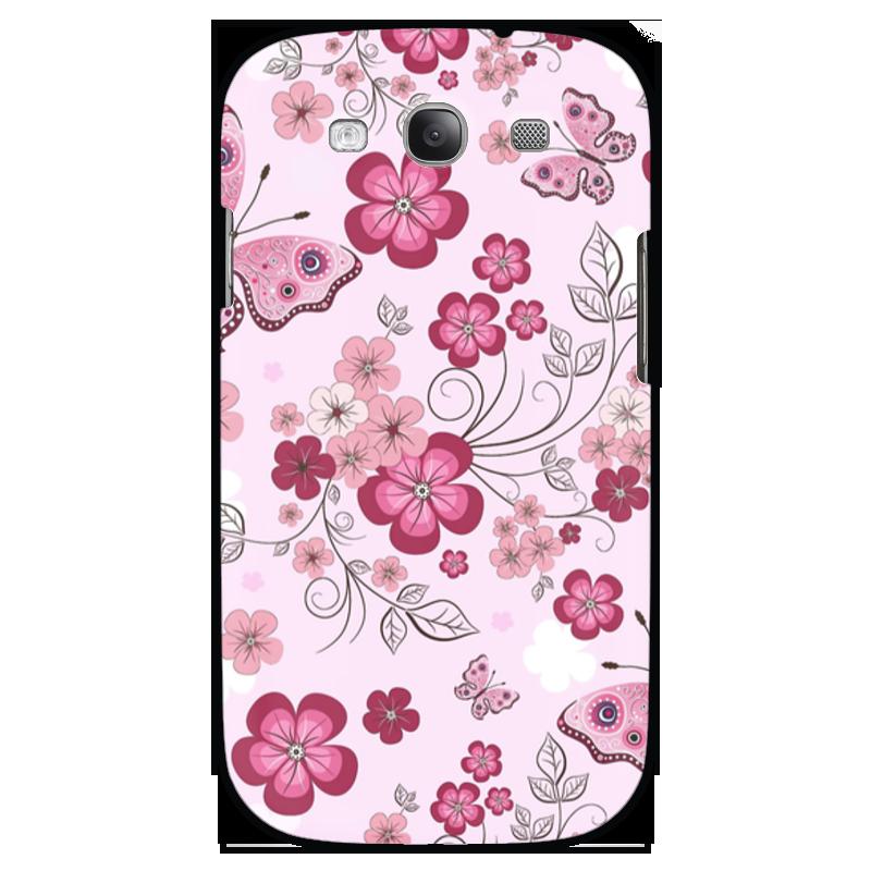 Чехол для Samsung Galaxy S3 Printio Бабочки композиция цветочная 19 см русские подарки композиция цветочная 19 см
