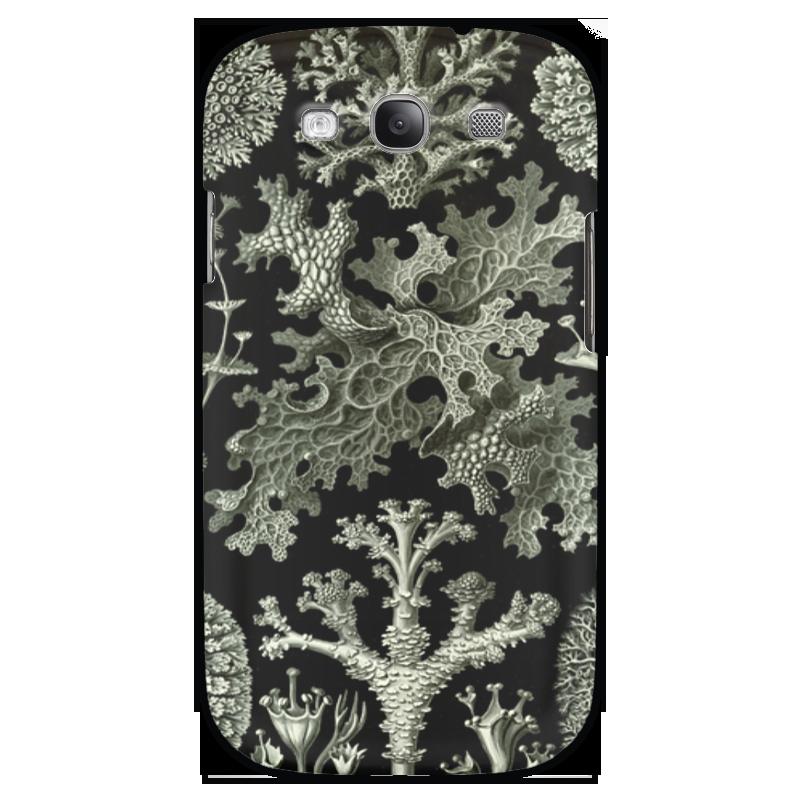 Чехол для Samsung Galaxy S3 Printio Лишайники (lichenes, ernst haeckel) чехол для samsung galaxy s7 edge силиконовый printio лишайники lichenes ernst haeckel
