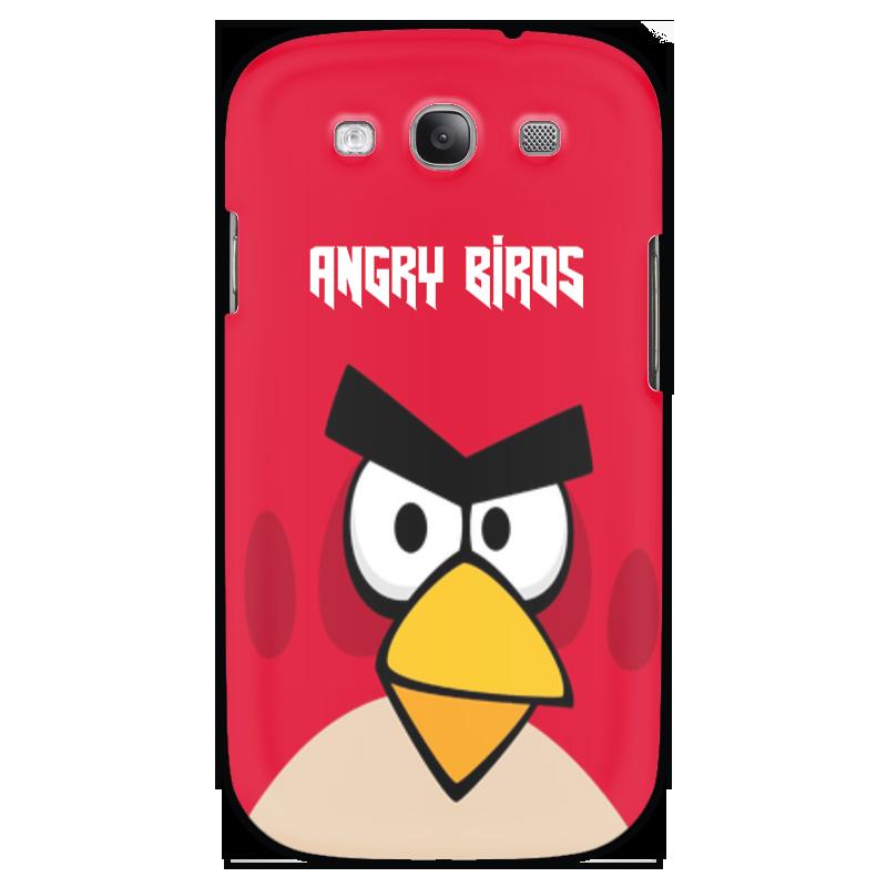 Чехол для Samsung Galaxy S3 Printio Angry birds (terence) чехол gear4 angry birds pig king для new ipad ipad2 ipab303g