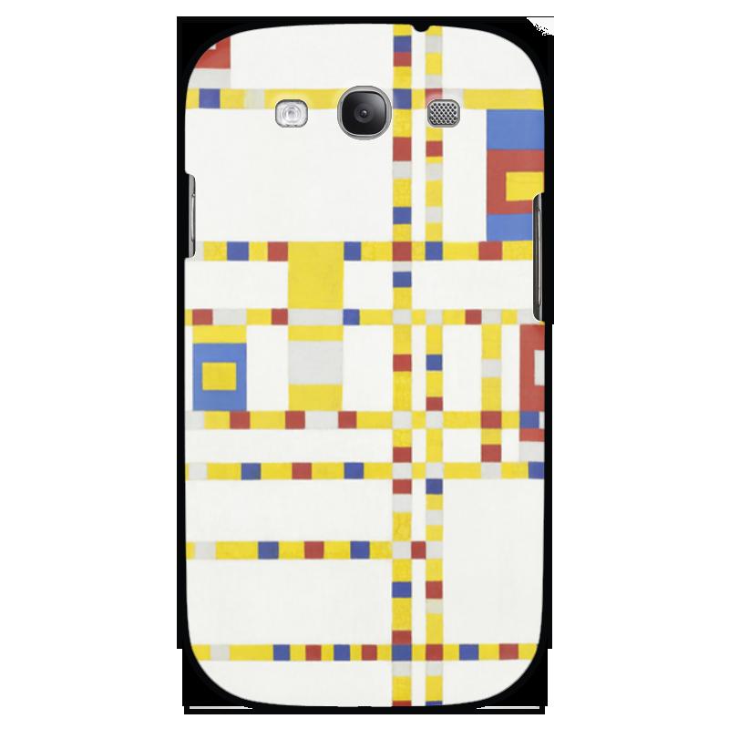 Чехол для Samsung Galaxy S3 Printio Бродвей буги-вуги (питер мондриан) чехол для samsung galaxy s5 printio бродвей буги вуги питер мондриан