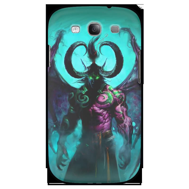 Чехол для Samsung Galaxy S3 Printio Warcraft collection: illidan эспадрильи zenden collection zenden collection ze012agpre18
