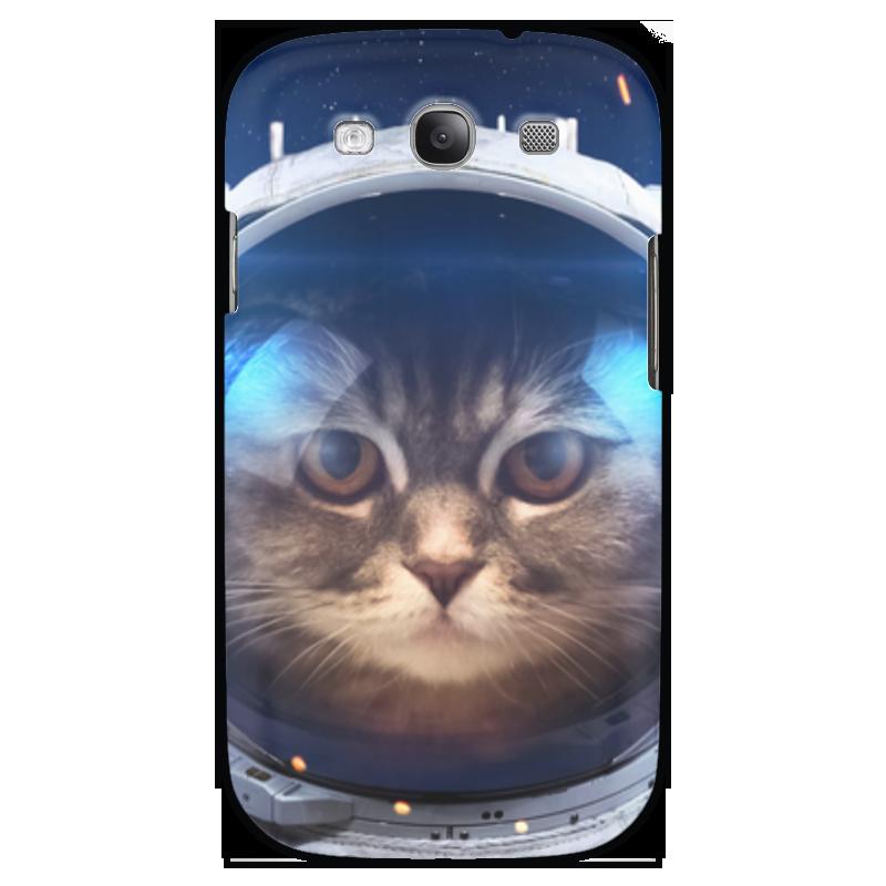 Чехол для Samsung Galaxy S3 Printio Котосмонавт купить чехол для samsung galaxy s3 melkco
