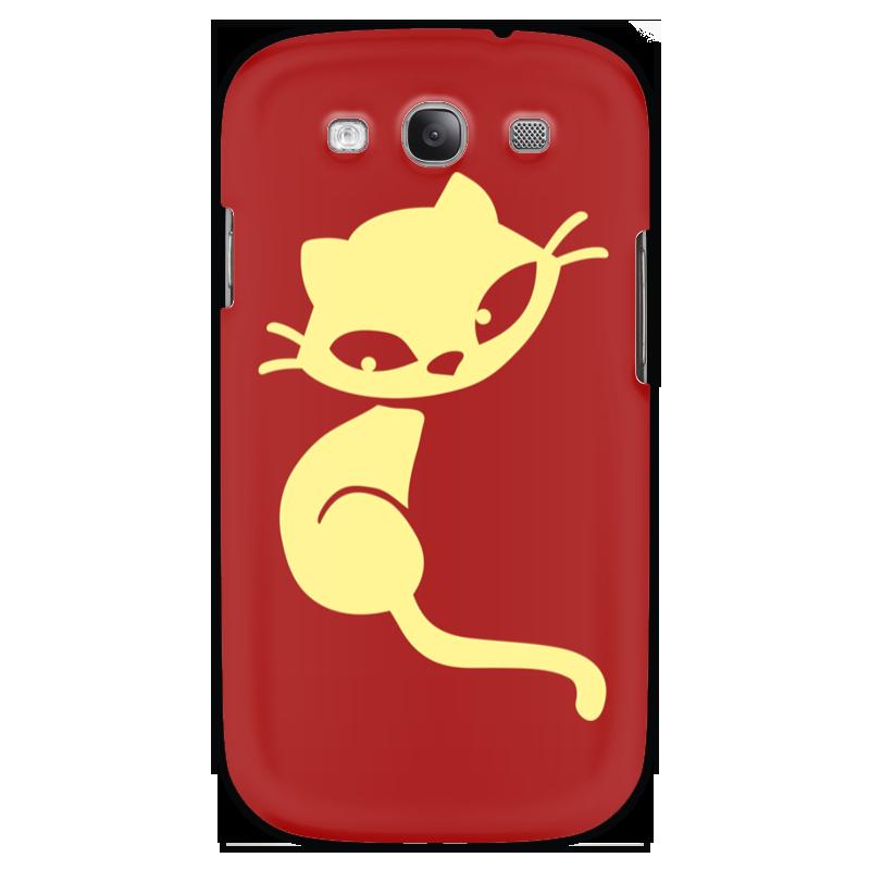 Чехол для Samsung Galaxy S3 Printio Кошечка s3 b s3 8 s3 6 s2 00 s2 oo s3 9