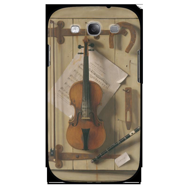 Чехол для Samsung Galaxy S3 Printio Натюрморт со скрипкой (уильям харнетт) пазл castor land 68 47см натюрморт со скрипкой и живописью 1000эл