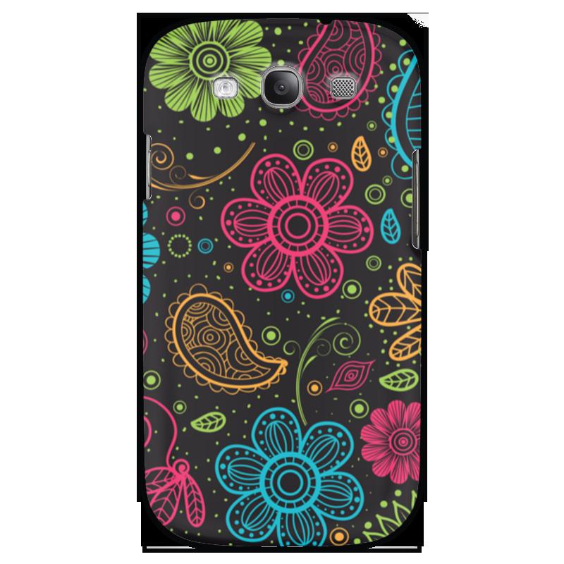 Чехол для Samsung Galaxy S3 Printio Цветочный