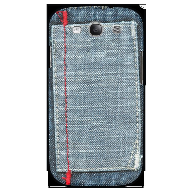 Чехол для Samsung Galaxy S3 Printio Джинса