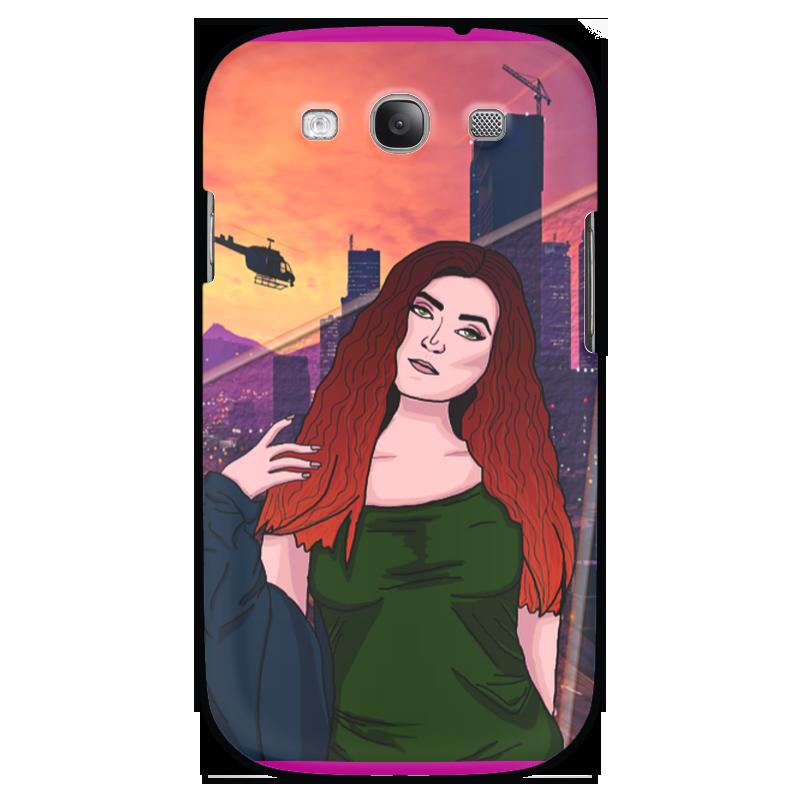 Чехол для Samsung Galaxy S3 Printio Гта девушка сумка printio gta 5 dog