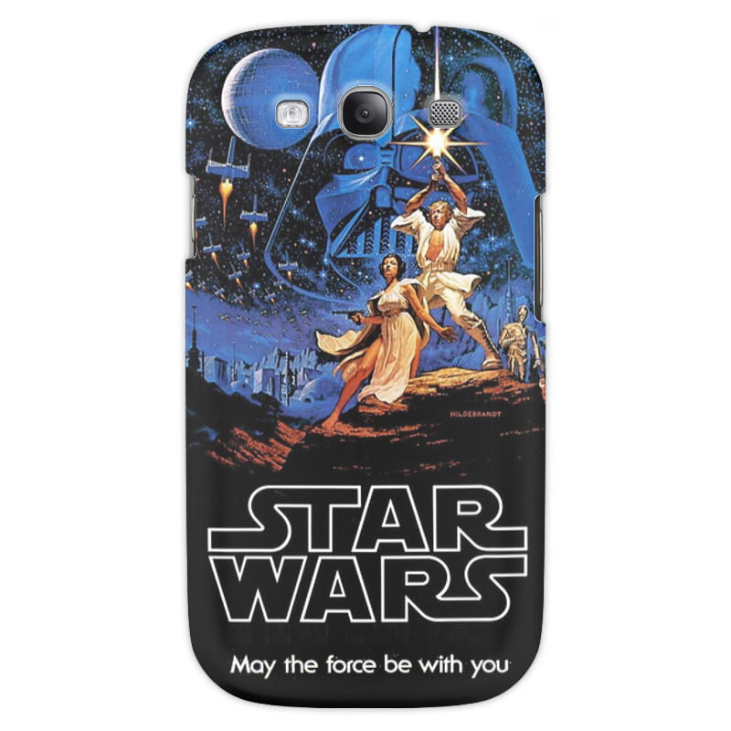 Чехол для Samsung Galaxy S3 Printio Star wars