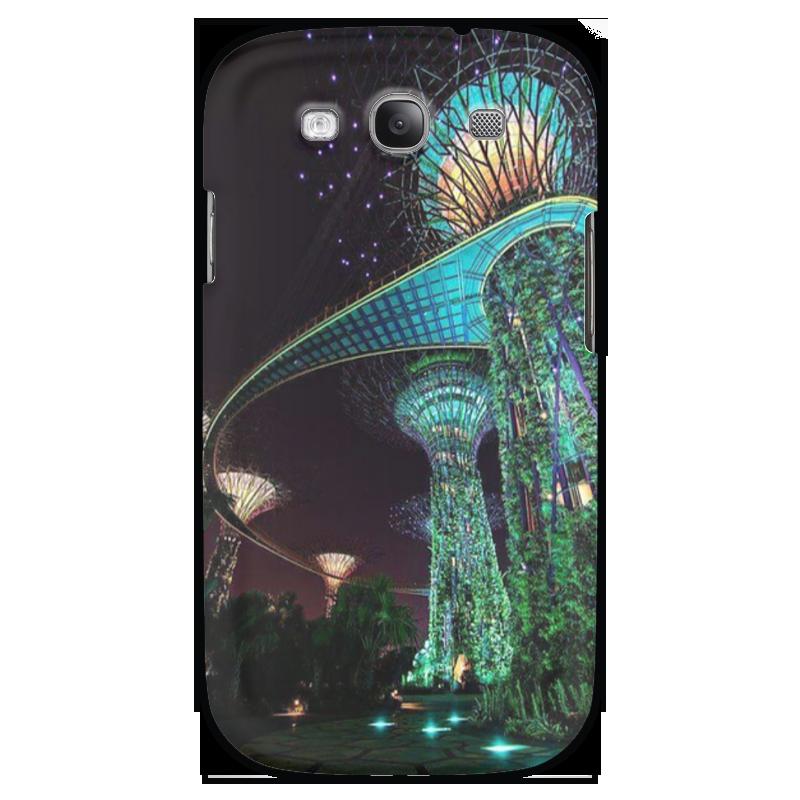 Чехол для Samsung Galaxy S3 Printio Сады будущего