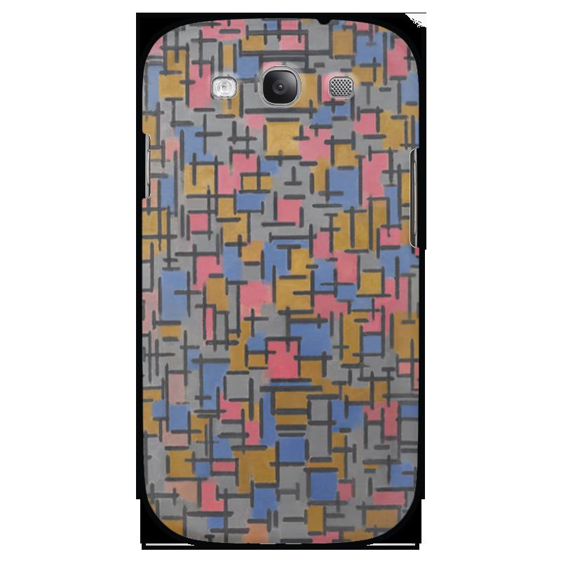 Чехол для Samsung Galaxy S3 Printio Композиция (питер мондриан) чехол для samsung galaxy s3 printio череп художник