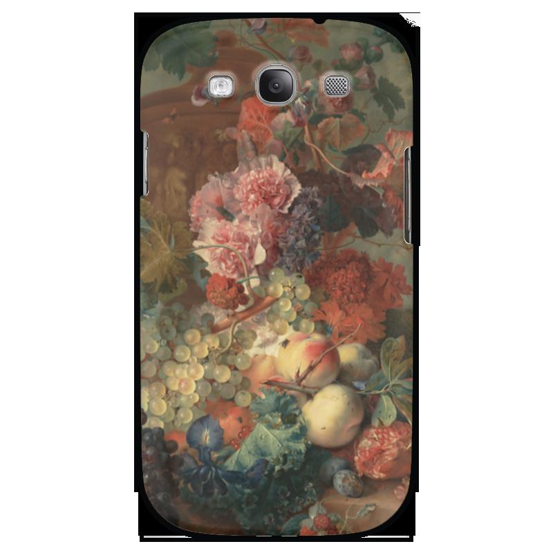 Чехол для Samsung Galaxy S3 Printio Цветы (ян ван хёйсум) чехол для samsung galaxy s3 printio череп художник