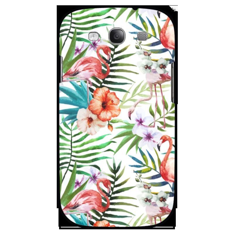 Чехол для Samsung Galaxy S3 Printio Фламинго чехол для карточек фламинго и ананас с усами дк2017 101