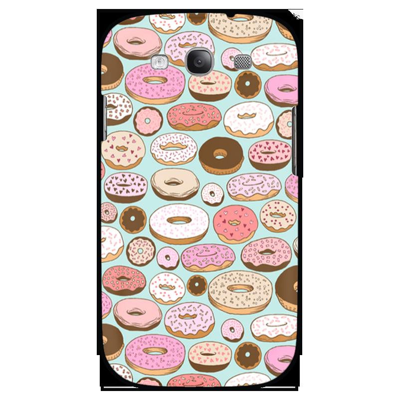 Чехол для Samsung Galaxy S3 Printio Пончики чехол