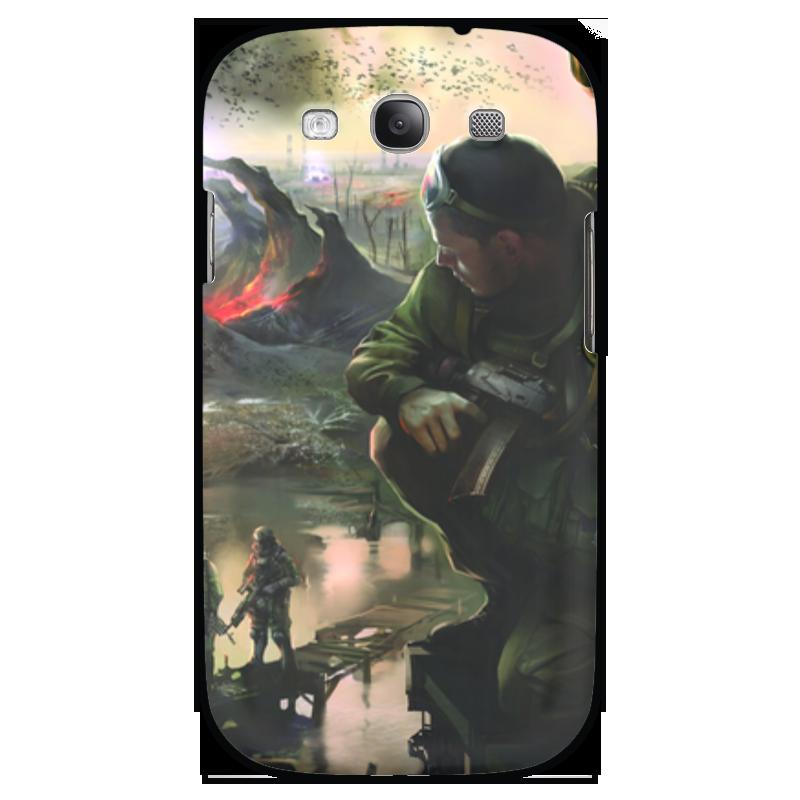 Чехол для Samsung Galaxy S3 Printio S.t.a.l.k.e.r.