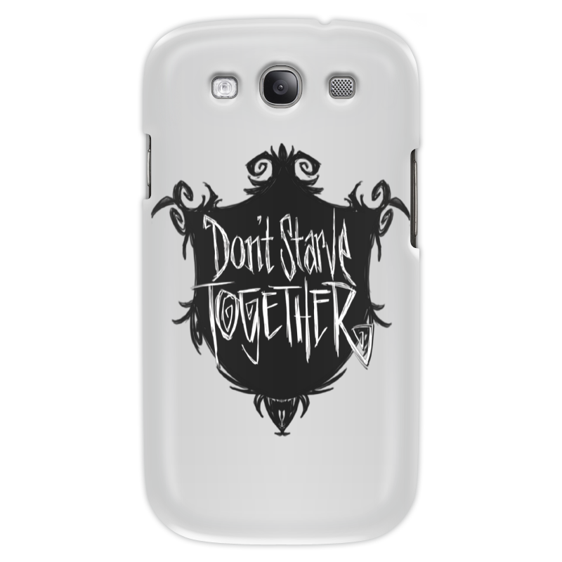 Чехол для Samsung Galaxy S3 Printio Don't starve together