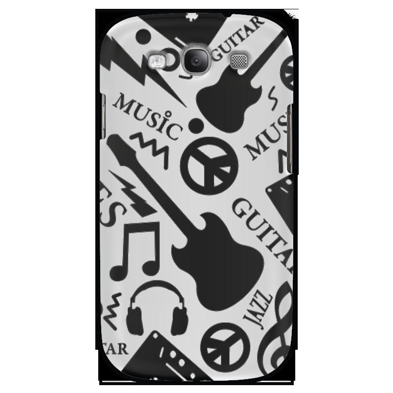 Чехол для Samsung Galaxy S3 Printio Музыка