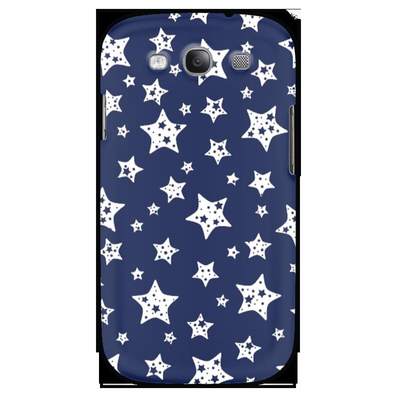 Чехол для Samsung Galaxy S3 Printio Звёзды чехол для карточек пионы на синем фоне дк2017 113