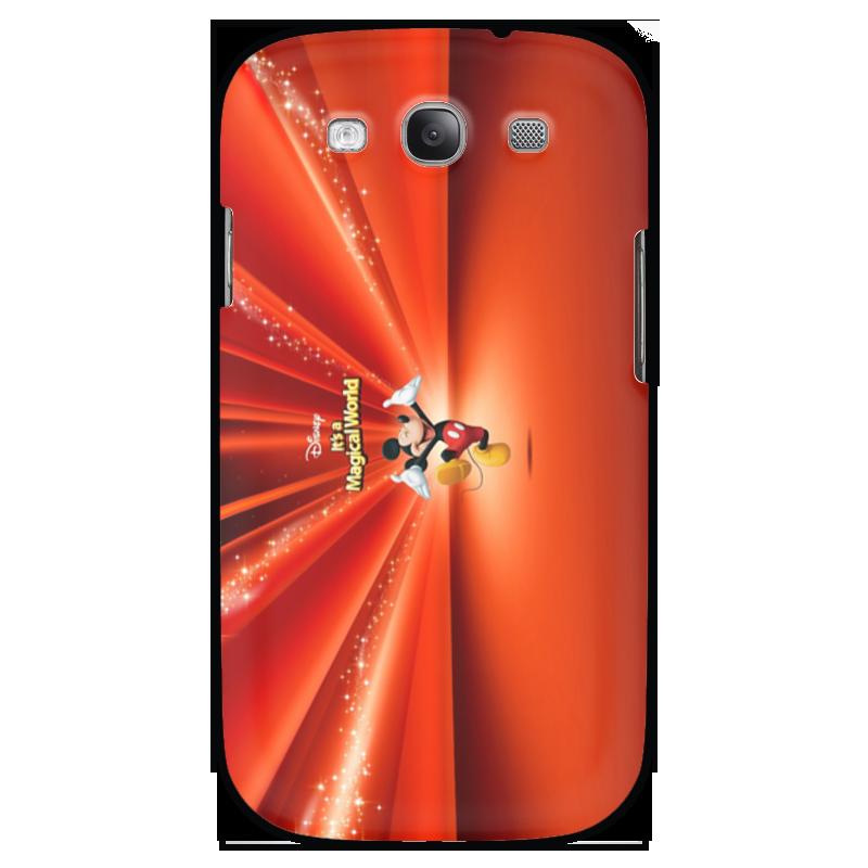 Чехол для Samsung Galaxy S3 Printio Микки маус чехол для iphone 6 глянцевый printio микки маус