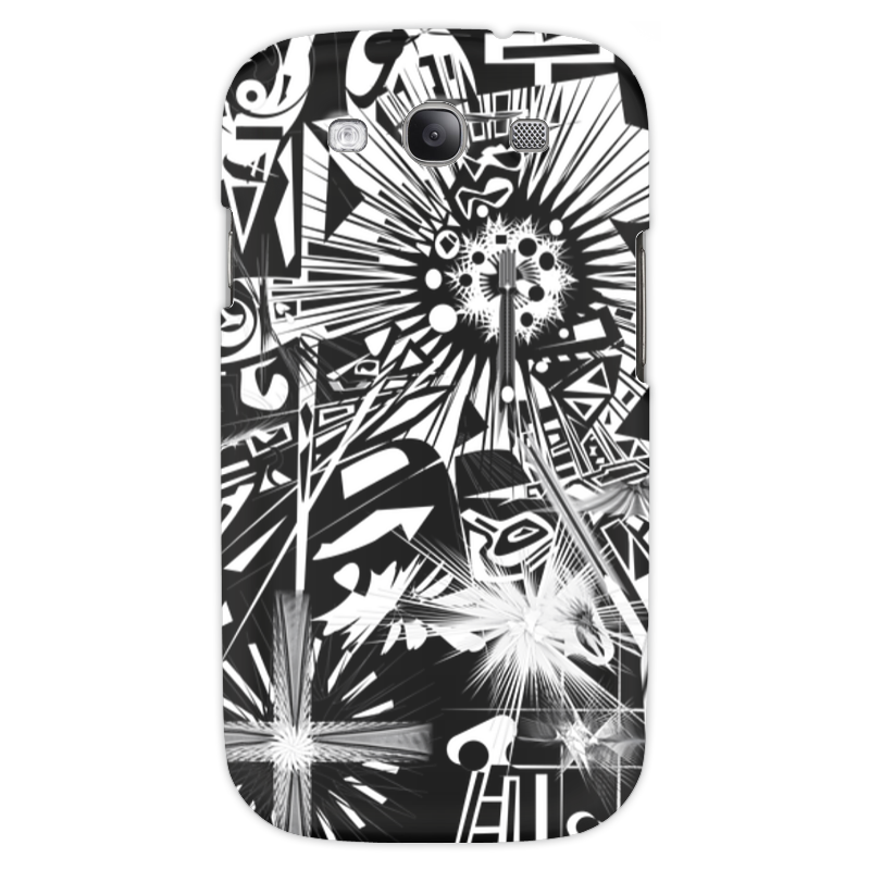 Чехол для Samsung Galaxy S3 Printio С яблоком чехол для samsung galaxy s3 printio череп художник