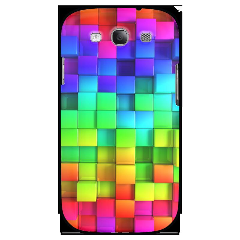Чехол для Samsung Galaxy S3 Printio Яркие краски чехол для samsung galaxy s3 printio череп художник