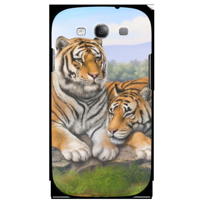 Чехол для Samsung Galaxy S3 Printio Тигры чехол для ноутбука 12 printio тигры