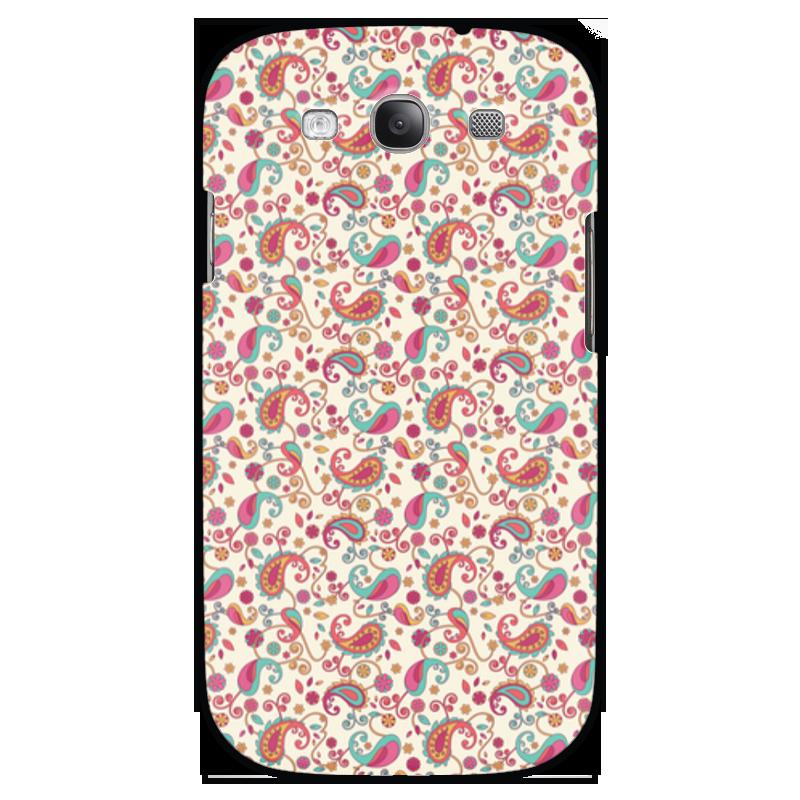 Чехол для Samsung Galaxy S3 Printio Пейсли (яркий)