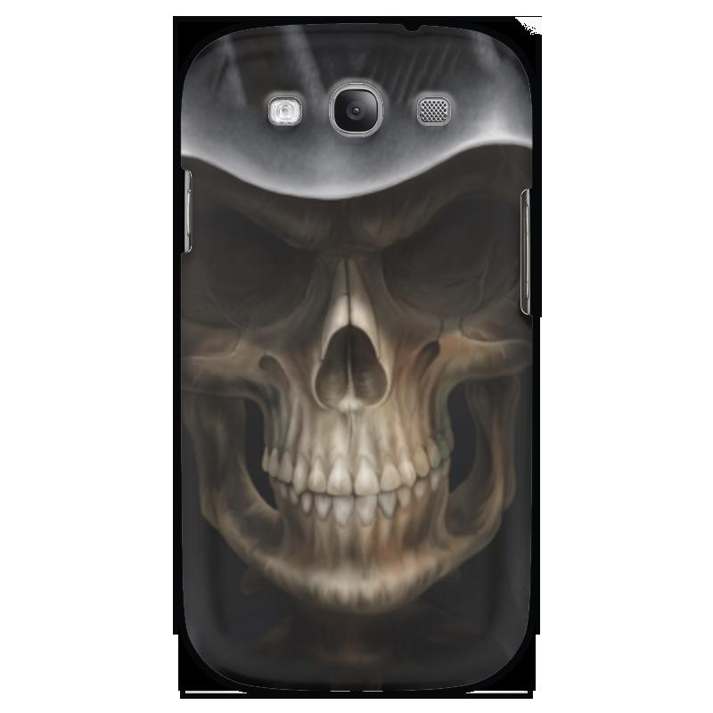 Чехол для Samsung Galaxy S3 Printio Череп в капюшоне чехол для samsung galaxy s3 printio череп художник