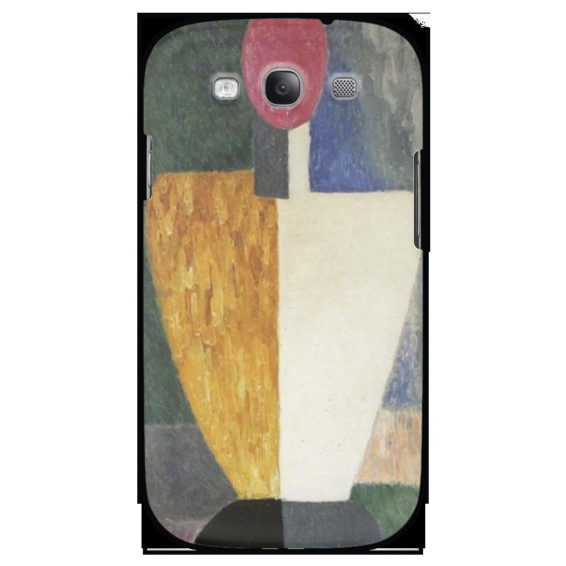 Чехол для Samsung Galaxy S3 Printio Торс (фигура с розовым лицом) (малевич) чехол для samsung galaxy s3 printio череп художник