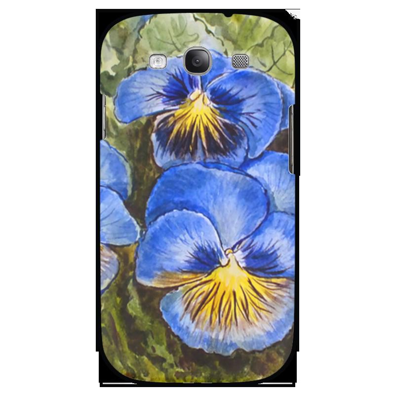 Чехол для Samsung Galaxy S3 Printio  анютины глазки  набор эм 165 4ап2 анютины глазки 1157218