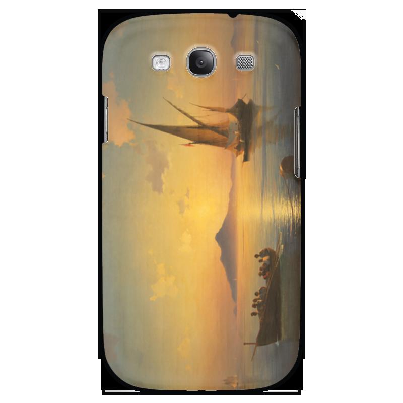 Чехол для Samsung Galaxy S3 Printio Неаполитанский залив чехол для samsung galaxy s3 printio череп художник