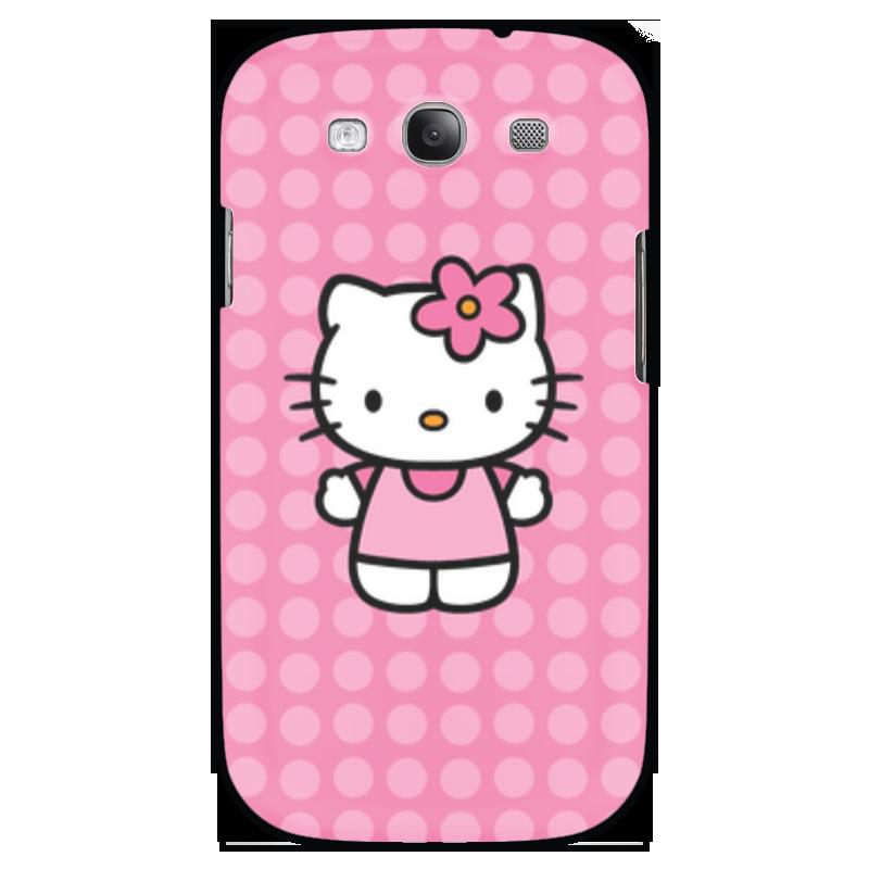 Чехол для Samsung Galaxy S3 Printio Kitty в горошек чаша горошек 2 л бел син 1150426