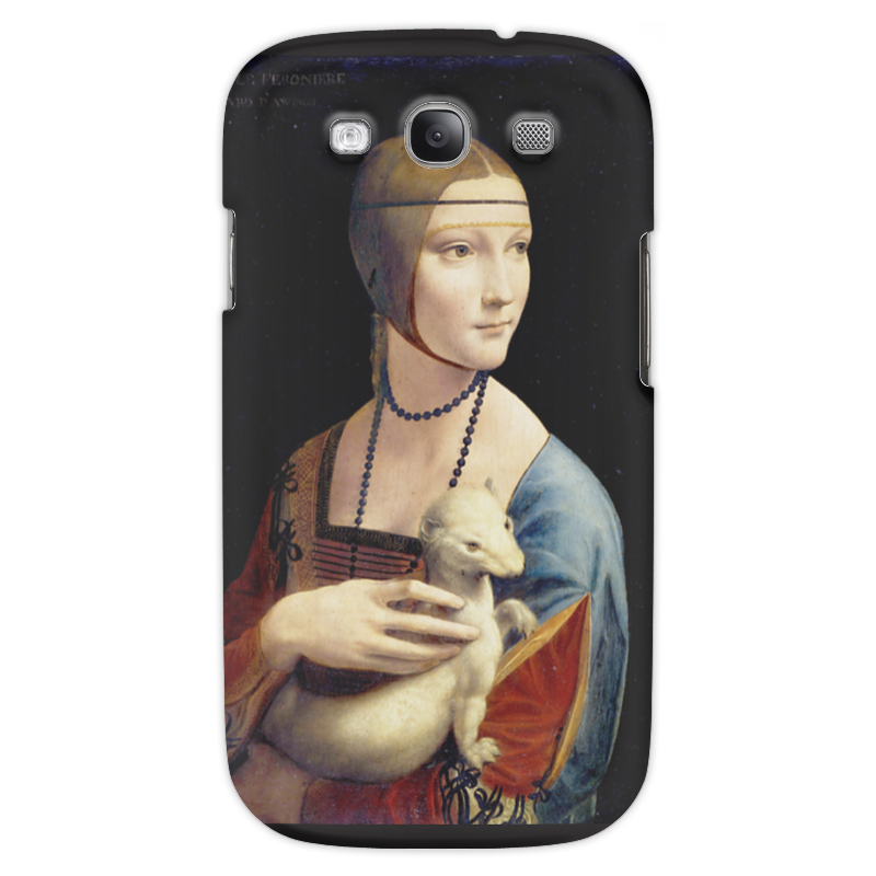 Чехол для Samsung Galaxy S3 Printio Дама с горностаем (леонардо да винчи) набор для сборки revell танк леонардо да винчи