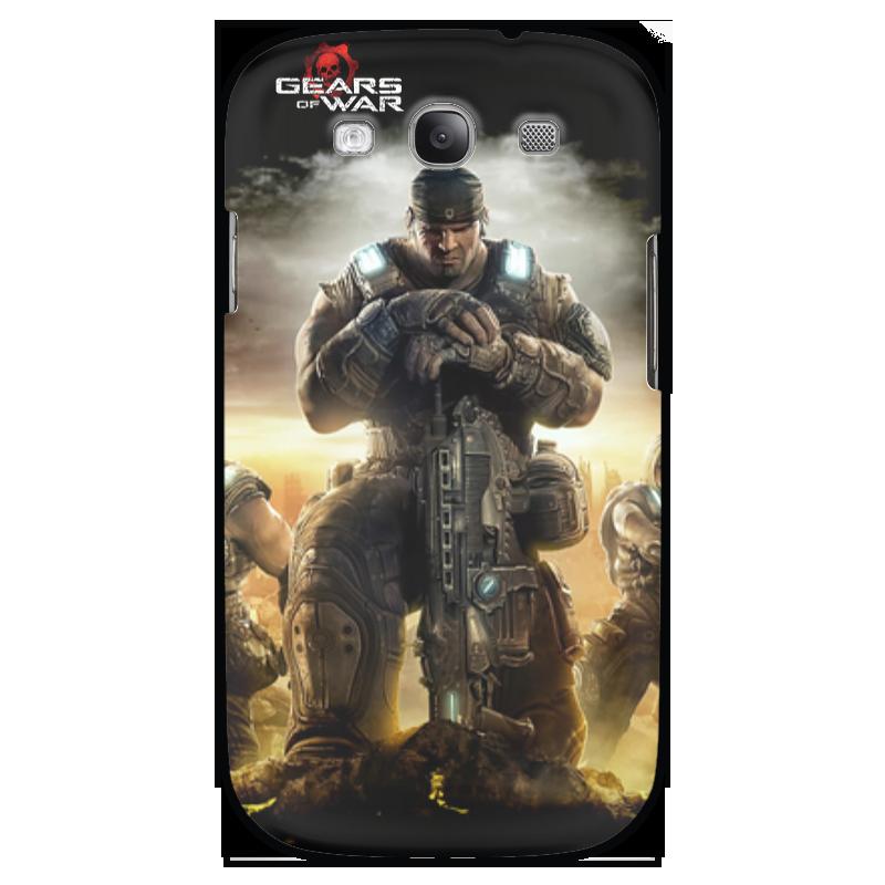 Чехол для Samsung Galaxy S3 Printio Gears of war art of war