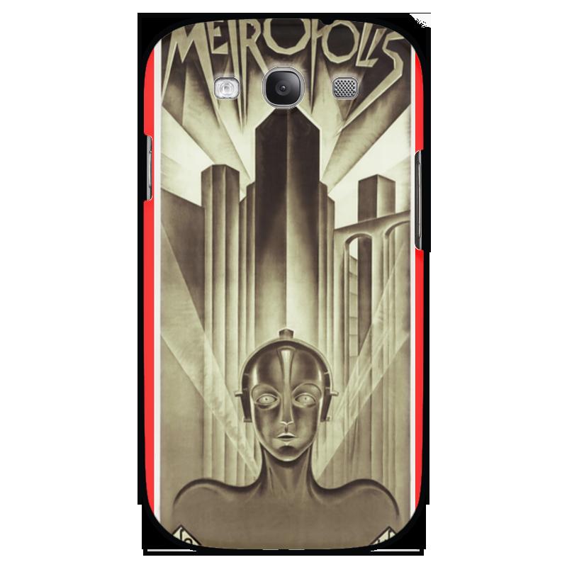 Чехол для Samsung Galaxy S3 Printio Афиша к фильму «метрополис», 1927 год для мам афиша
