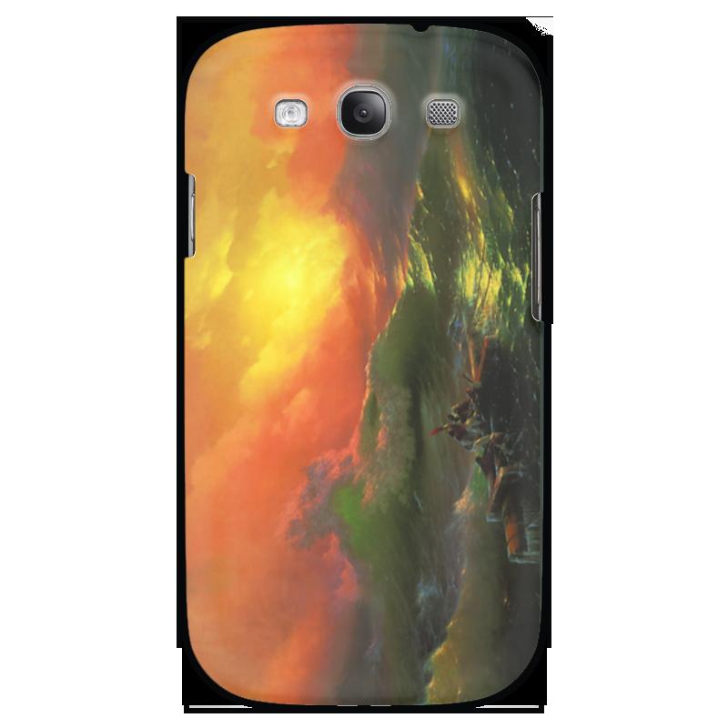Чехол для Samsung Galaxy S3 Printio Девятый вал (картина айвазовского) чехол для iphone 7 объёмная печать printio девятый вал картина айвазовского