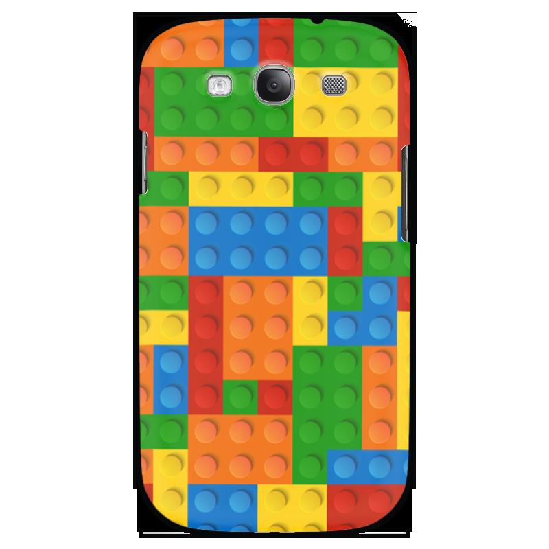 Чехол для Samsung Galaxy S3 Printio Конструктор лего детское лего gudi