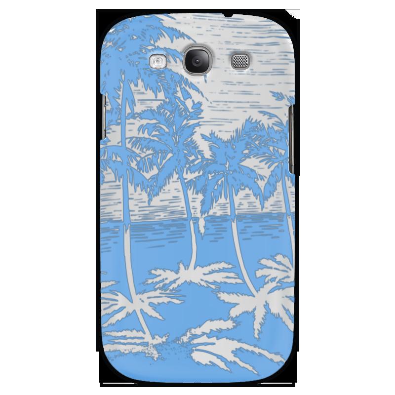 Чехол для Samsung Galaxy S3 Printio Пальмы купить горшок для пальмы большой