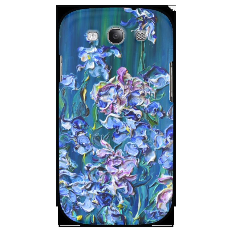Чехол для Samsung Galaxy S3 Printio Ирисы http