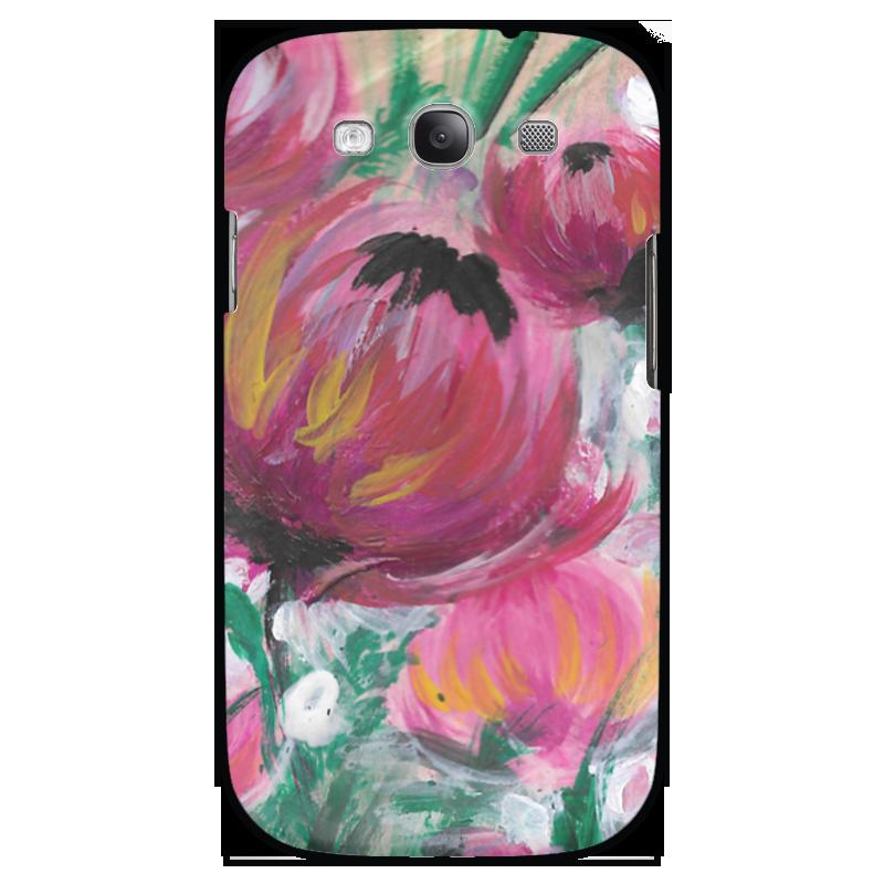Чехол для Samsung Galaxy S3 Printio Полевые цветы st баллон для автоматического освежителя воздуха полевые цветы 39 мл