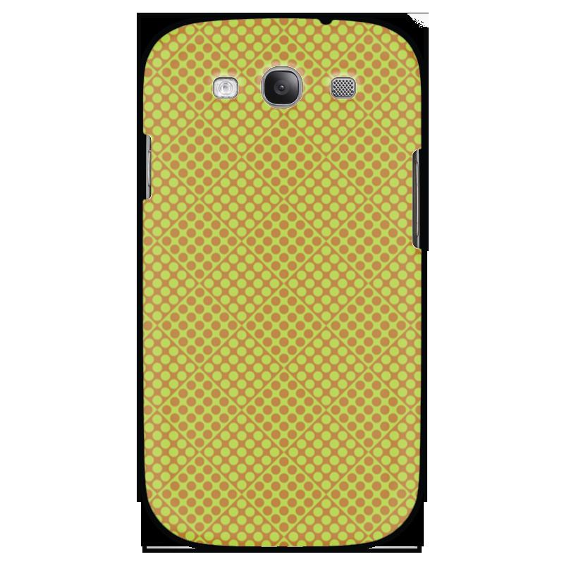 Чехол для Samsung Galaxy S3 Printio Горох в квадрате sahar cases чехол узор с маленькими сердечками samsung galaxy s3