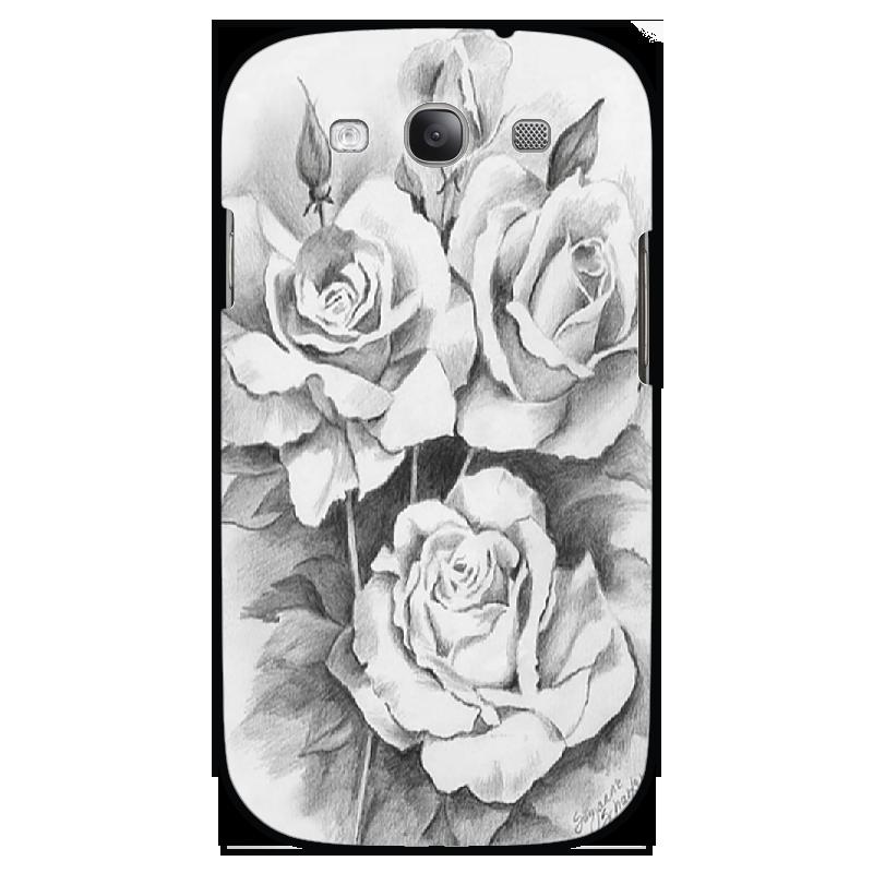 Чехол для Samsung Galaxy S3 Printio Розы s3 b s3 8 s3 6 s2 00 s2 oo s3 9