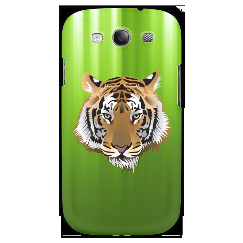 Чехол для Samsung Galaxy S3 Printio Взгляд тигра чехол для samsung galaxy s5 printio тигра