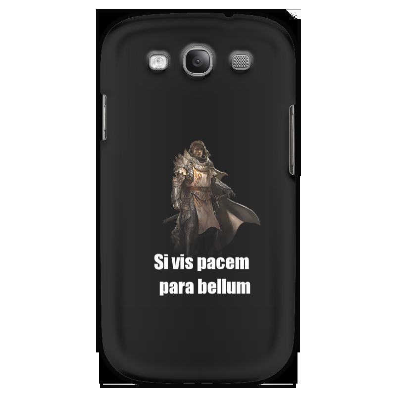 Чехол для Samsung Galaxy S3 Printio Хочешь мира - готовься к войне чехол для samsung galaxy note 2 printio хочешь мира готовься к войне