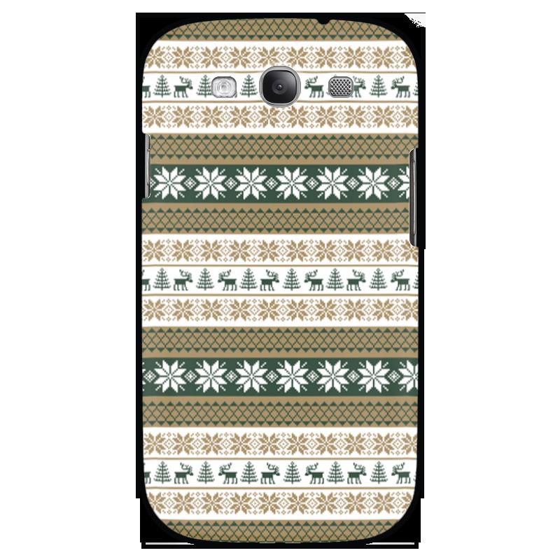 Чехол для Samsung Galaxy S3 Printio Скандинавский узор sahar cases чехол узор с маленькими сердечками samsung galaxy s3
