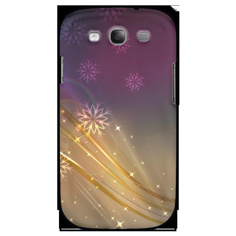 Чехол для Samsung Galaxy S3 Printio Снежная фантазия