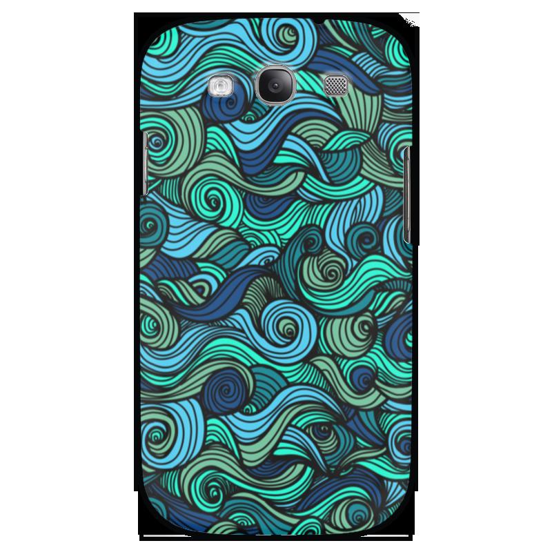 Чехол для Samsung Galaxy S3 Printio Волнистый sahar cases чехол узор с маленькими сердечками samsung galaxy s3