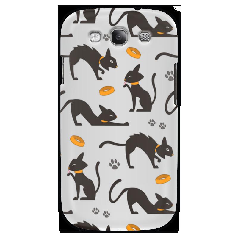 Чехол для Samsung Galaxy S3 Printio Чёрные кошки для кошки