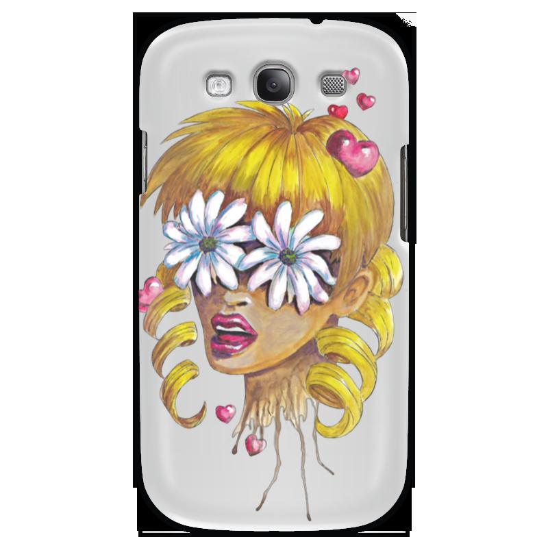 Чехол для Samsung Galaxy S3 Printio Без ума от цветов kakim bydet gibkii telefon ot samsung
