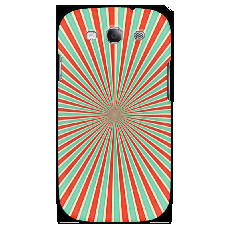 Чехол для Samsung Galaxy S3 Printio Полосатый чехол из искусственной кожи cellularline для samsung galaxy s3 черный