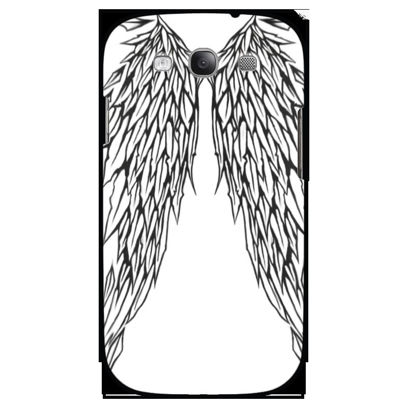 Чехол для Samsung Galaxy S3 Printio Чёрные крылья чехол для samsung galaxy s3 printio череп художник